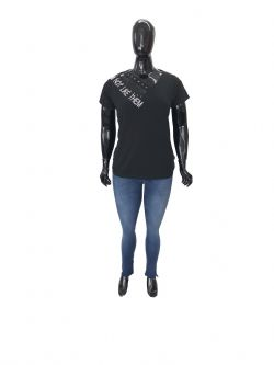 Blusa Plus Size Not Like Them Ref 02905 / Calça Plus Size Jeans Ref 02920